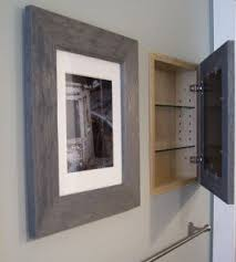 Recessed Medicine Cabinet Wood Door Recessed Wood Medicine Cabinets With Mirrors Foter