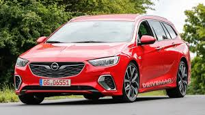 this is what the opel insignia sports tourer looks like in a gsi suit