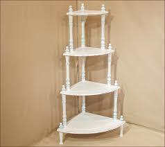 White Shabby Chic Bookcase White Corner Bookcases Image Yvotube Com