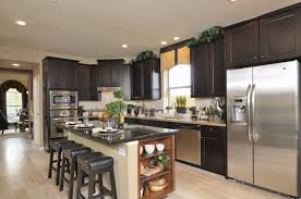 New Home Kitchen Designs by Westin Homes Summerwood New Homes Houston Gourmet Kitchen