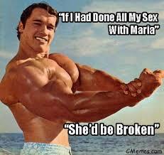 Schwarzenegger Meme - arnold schwarzenegger cheating scandal on maria meme famous funny