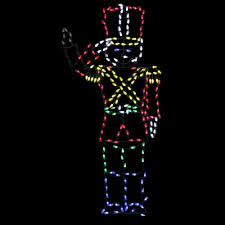72 in pro line led wire decor saluting soldier 96588 mp1 the