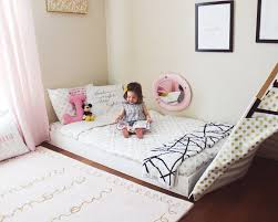 Ideas To Decorate Kids Room by 25 Best Floor Beds Ideas On Pinterest Full Storage Bed Raised
