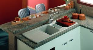 l evier de cuisine evier inox céramique ou matériaux de synthèse sodiam