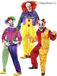 scary clown costumes pennywise the clown men s costume costumes costumes