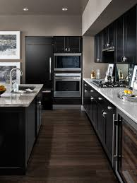 Cabinet Kitchen Ideas Best Narrow Kitchen Design Ideas With Darker Walnut Staining