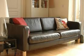 Ikea Sater Leather Sofa Leather Three Seater Sofas Pleasing Ikea Leather Sofa Home