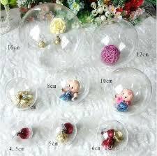 clear plastic ornaments plastic ornament balls crafts glassnyc co