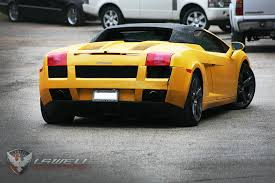 lamborghini gallardo rear lamborghini gallardo spyder service and repair performance