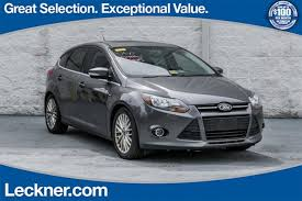 2013 ford focus titanium hatchback for sale used 2013 ford focus for sale king george va near tappahannock