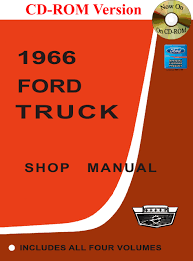 1966 ford truck shop manual ford motor company david e leblanc