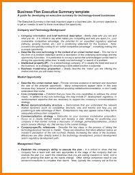 sample executive summary for resume 6 executive summary sample students resume 6 executive summary sample