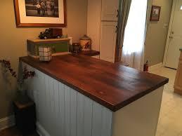 reclaimed wood countertops
