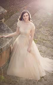 ethereal wedding dress floor length cap sleeves ethereal tulle gown wedding dress