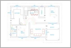 3 bhk simple home map in 1500 sq feet inspirations also square