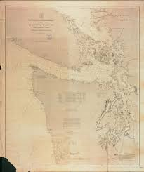 Wa Map Classic Wa Maps 1889 Puget Sound U0026 Olympic Peninsula