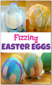 fizzing easter eggs gift of curiosity