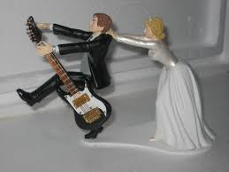 guitar cake topper guitar wedding cake topper idea in 2017 wedding