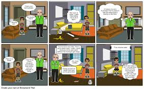tony clean your room storyboard by randallnaegle
