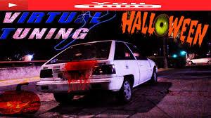 mitsubishi colt 1986 virtual tuning special halloween mitsubishi colt 1986 tuning of