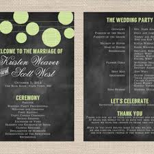 modern wedding programs best wedding program fans products on wanelo