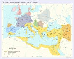 Roman Map The Eastern Roman Empire Ad 527 565 By Undevicesimus On Deviantart