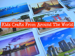 crafts from around the world no time for flash cards