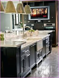 kitchen island with sink and dishwasher standard size kitchen island sink ideas with and dishwasher white