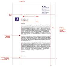 Proper Mailing Address Format by Stationery System Graphic Identities Standards Knox College