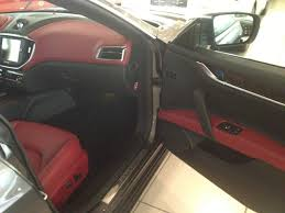 maserati ghibli interior rosso interior with radica wood trim maserati ghibli forum