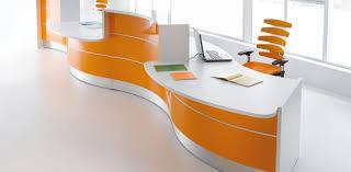 desk fascinate reception desk for sale ebay charming large