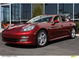 Porsche Panamera Red - 2012 porsche panamera 4s in ruby red metallic 061296 auto
