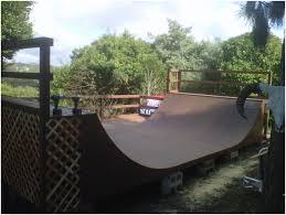 Backyard Skateboard Ramps by Backyards Trendy 16 X 4 Skatelite Mini Ramp With Side Deck And