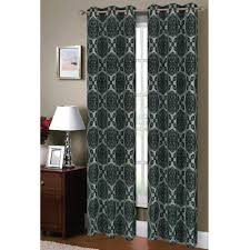 window elements semi opaque lattice flocked faux silk 84 in l