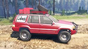 prerunner jeep xj grand cherokee zj for spin tires
