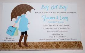 design sample baby shower invitations