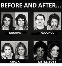 Crack Cocaine Meme - before and after cocaine alcohol little boys crack alcohol meme on
