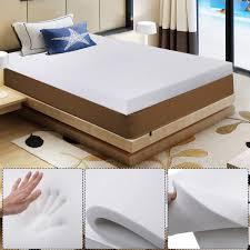 Full Size Memory Foam Mattress Topper 80