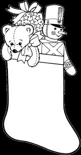 christmas stocking coloring pages 2 purple kitty
