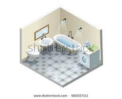 Elements Bathroom Furniture Vector Bathroom Cabinets Free Vector Stock