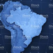 Amazon World Map by Brazil Topographic Map Stock Photo 182190269 Istock