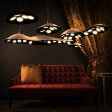 designer leuchte indirektes licht led indirekte beleuchtung decke dunkeles interior