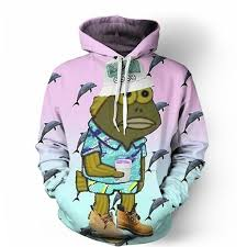 aliexpress com buy deadass son fish hoodie 3d print hoodies