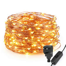 copper wire led lights 200 warm white led copper wire micro fairy lights string led