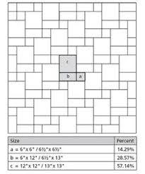 opus romano square tile pattern help me patterns