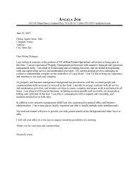 estate manager cover letter uxhandy com