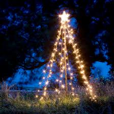 light up outdoor tree home decoration tricks