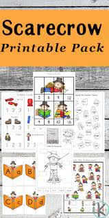 kindergarten worksheets and games free scarecrow kindergarten