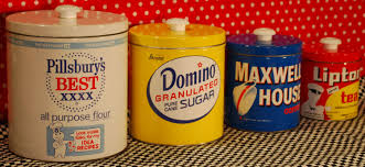 decorative kitchen canisters colorful canisters vintage