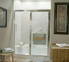 Shower Door Kits Glass Shower Door With Cozy Walk In Kits Seat And Inside Idea 16